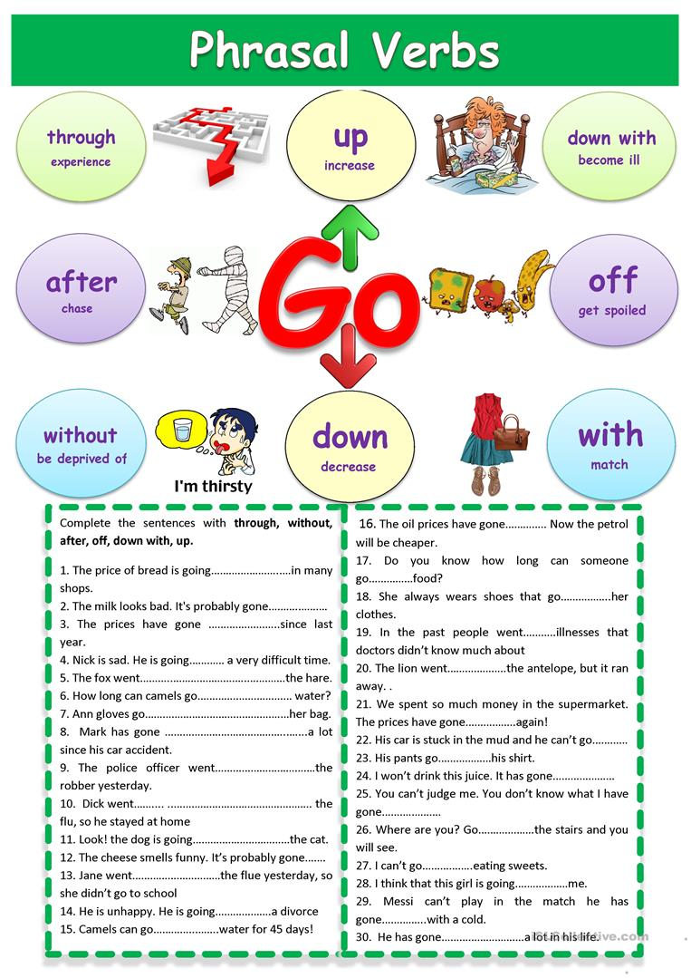 phrasal verbs lesson Learn english grammar - phrasal verbs  what is a phrasal verb a phrasal verb is a combination of a verb and preposition, a verb and an adverb, or a verb with both an adverb and a preposition.