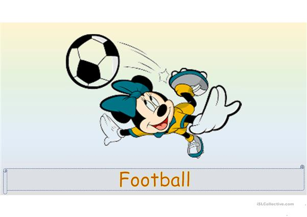 Mickey Mouse and friends - Disney Sport.