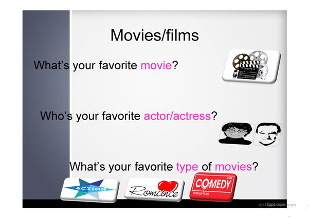 movies and TV programmes (communication)