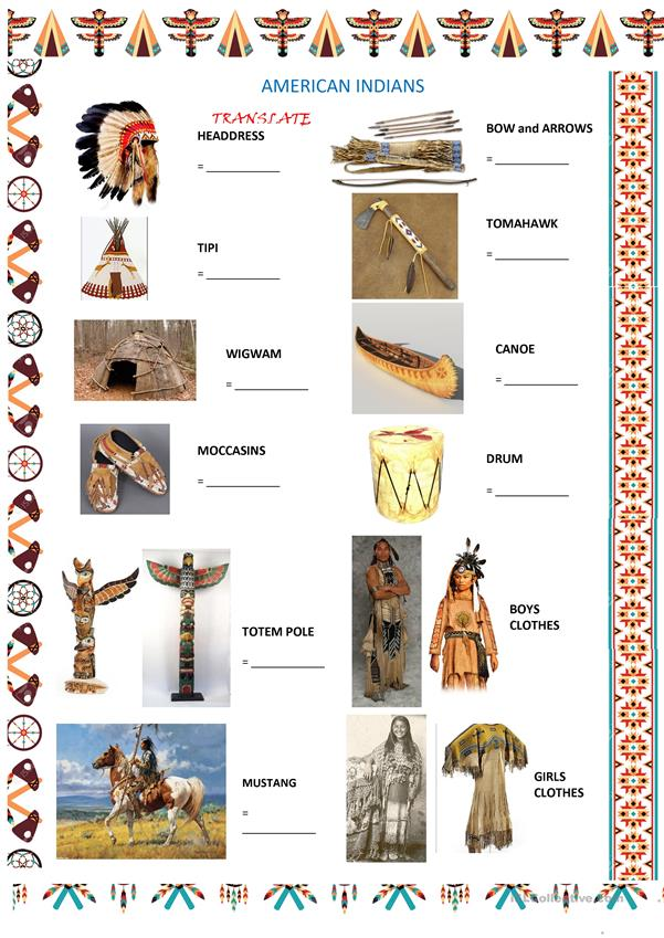 NATIVE AMERICANS/FIRST NATIONS life-basics 1