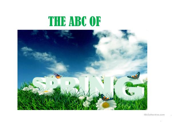 The ABC of Spring