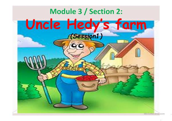 uncle hedy's farm