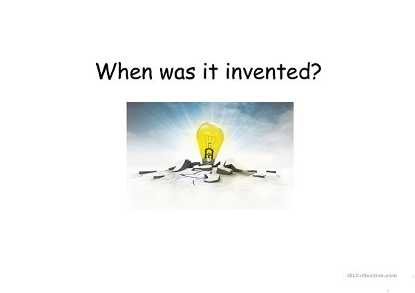 When was it invented?