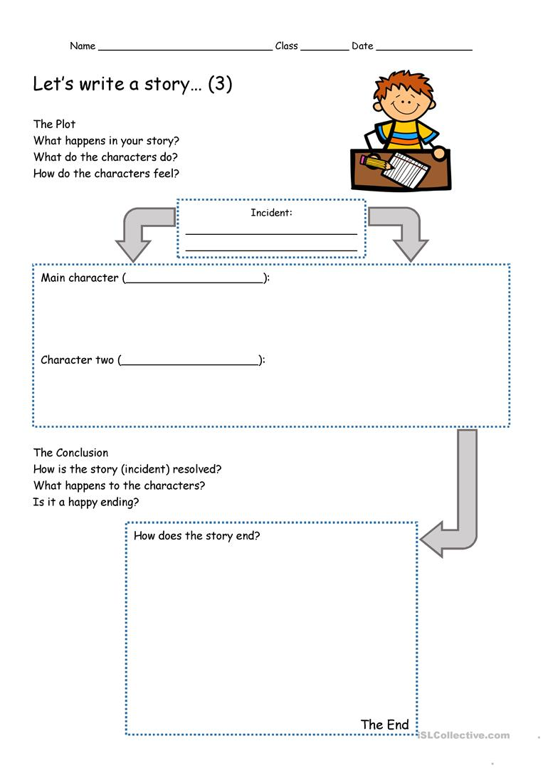 Premise Indicator Words: Let's Write A Story... English Story Writing Toolkit