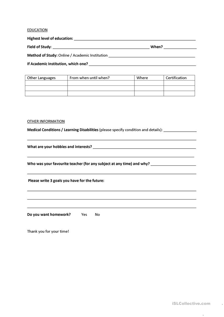 Need Assessment Template 28 Images Needs Assessment 8 ~ Sle Needs ...