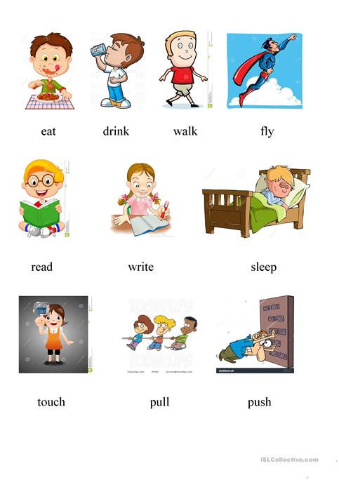 Avtion Verbs 2 Worksheet Free Esl Printable Worksheets Made By