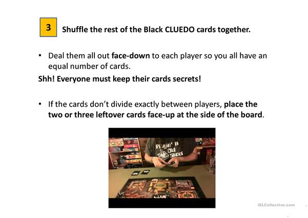 How to play Cluedo