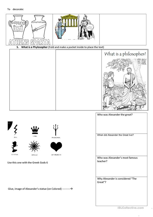 Lapbook Ancient Greece part 2