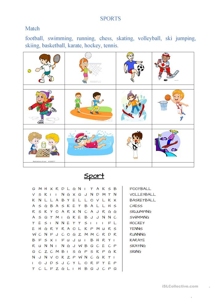 sports worksheet free esl printable worksheets made by teachers. Black Bedroom Furniture Sets. Home Design Ideas