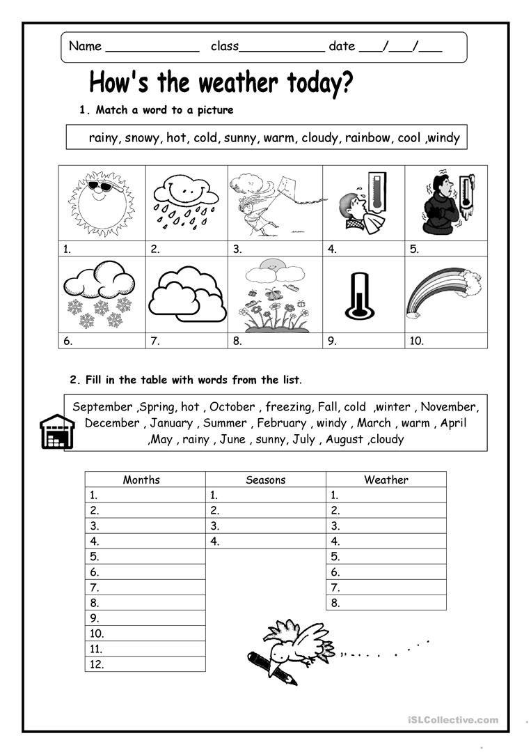 how 39 s the weather english esl worksheets. Black Bedroom Furniture Sets. Home Design Ideas
