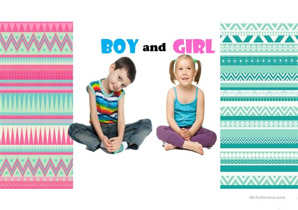 BOY AND GIRL