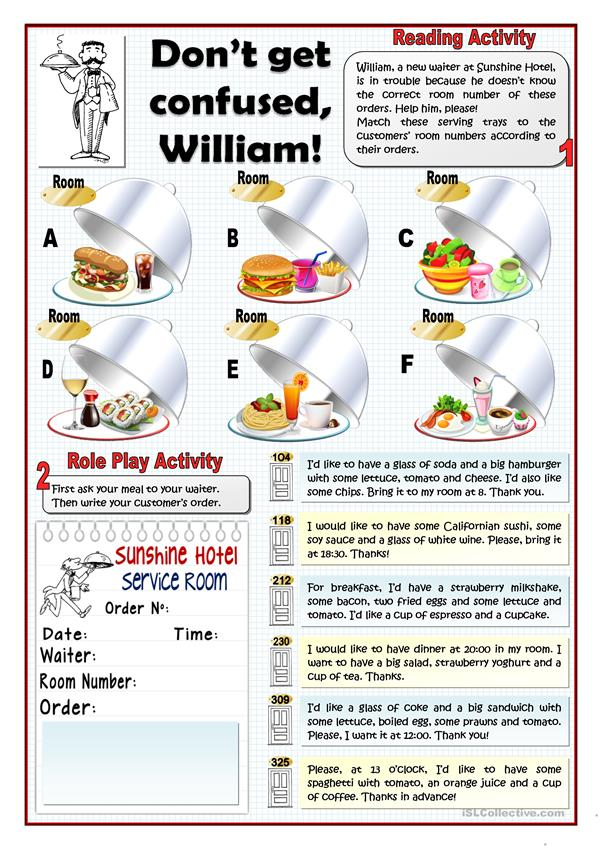 DON'T GET CONFUSED, WILLIAM! - READING AND SPEAKING