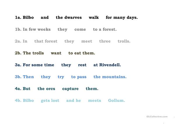 Hobbit - dwarves' messages 4