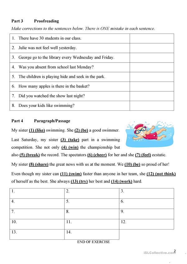 Mixed Tenses (Simple Present, Simple Present & Present Continuous) 3