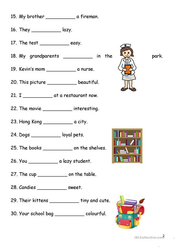 Present Simple - Verb-to-be - English ESL Worksheets For Distance Learning  And Physical Classrooms