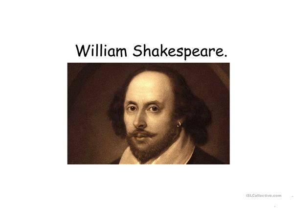 Shakespeare and his time.