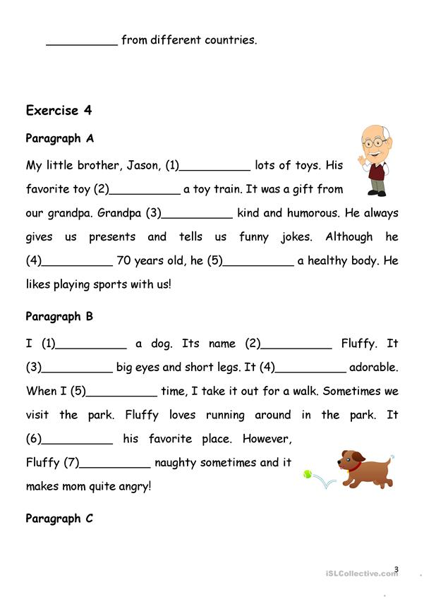 Simple Present Tense - Verb-to-be & Has/have - English ESL Worksheets For  Distance Learning And Physical Classrooms
