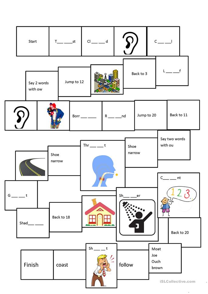 phonics oa ou ow oe worksheet free esl printable worksheets made by teachers. Black Bedroom Furniture Sets. Home Design Ideas
