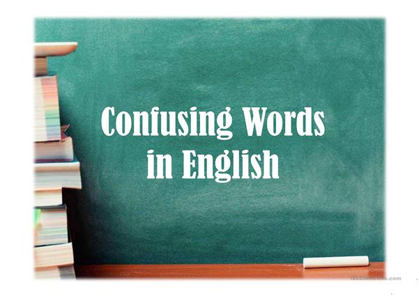 Confusing English Words