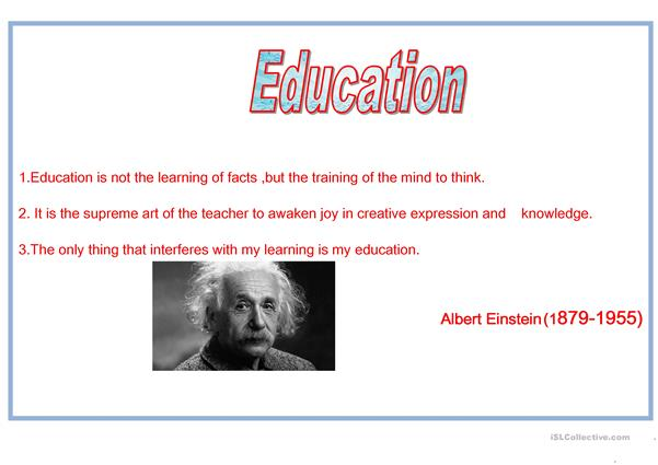 Education 2nd poster.