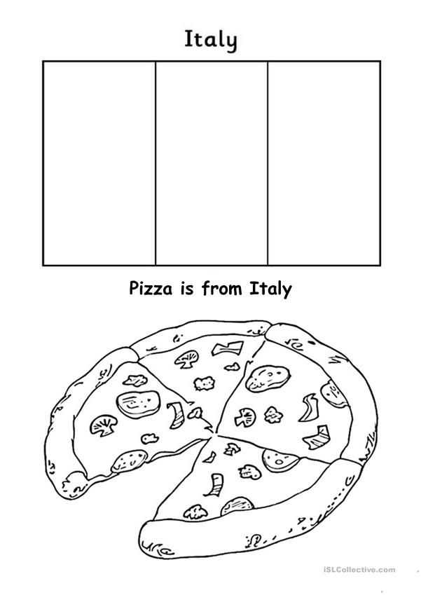 Geography for kids - Europe - Italy worksheet - English ESL Worksheets