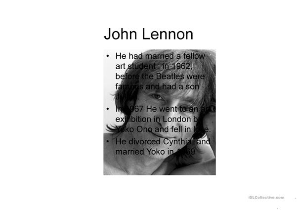 Lennon icon of modern times