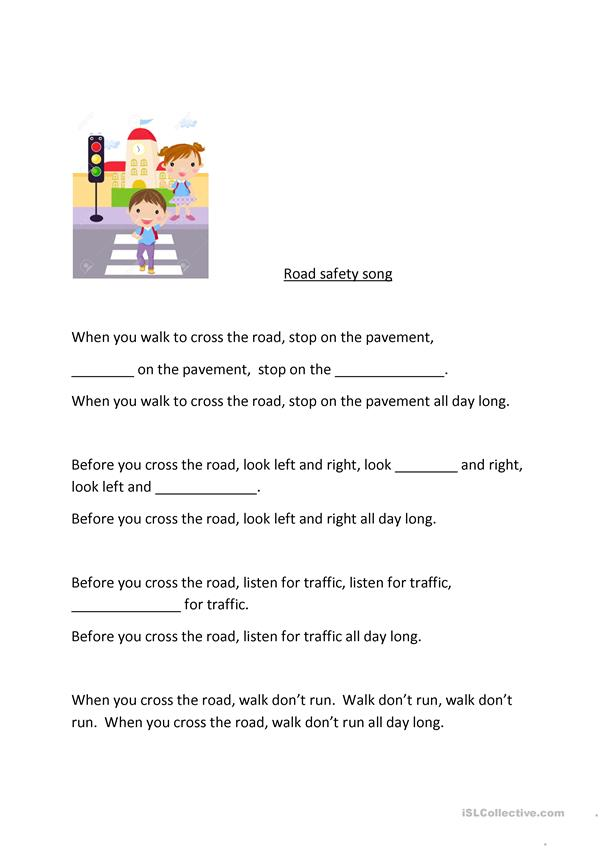 Road safety song