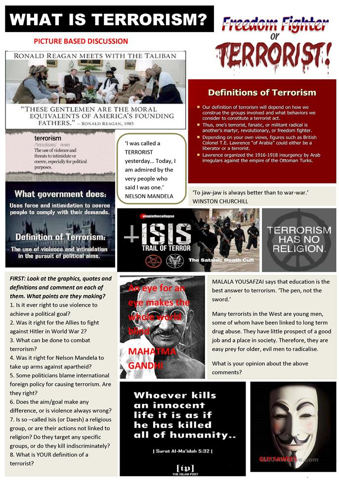 english topic terrorism News about terrorism commentary and archival information about terrorism from  the new york times.