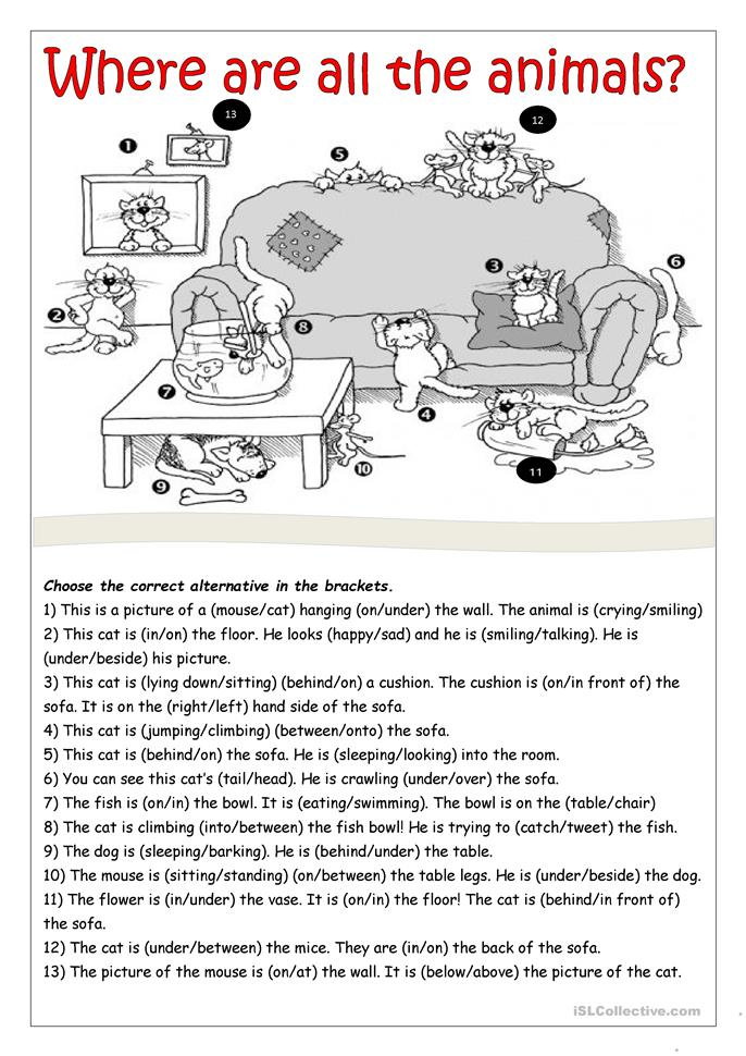 All Worksheets » Mixed Parts Of Speech Worksheets - Free Printable ...