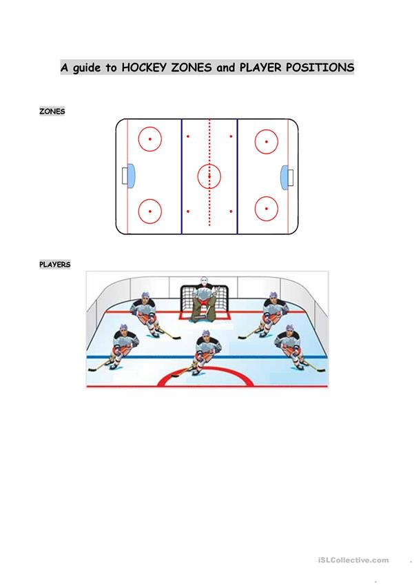 Hockey introduction (Notes sheet)