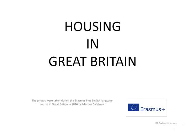 HOUSING IN GREAT BRITAIN - PICTURES