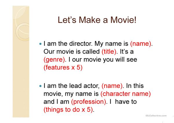 Make a movie trailer