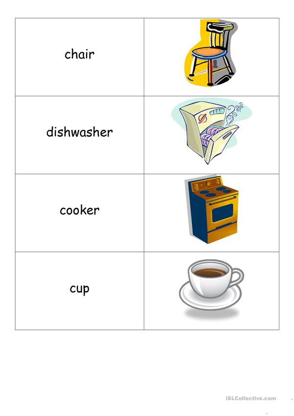 vocabulary cards and bingo