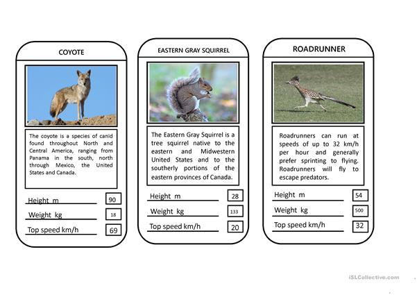 animal top trumps game