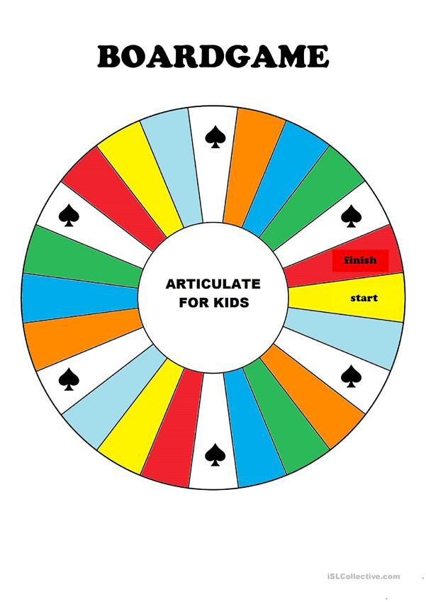 Articulate for kids - revision game