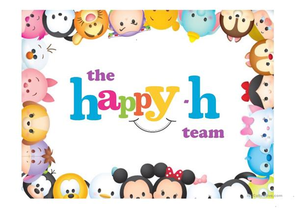 PHONICS - DIGRAPHS - THE HAPPY -H TEAM