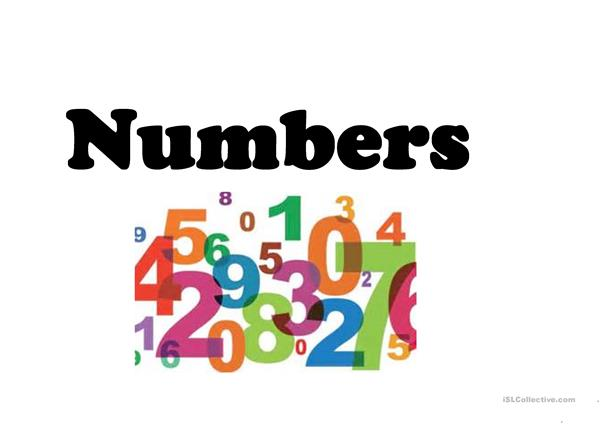Teaching numbers advanced