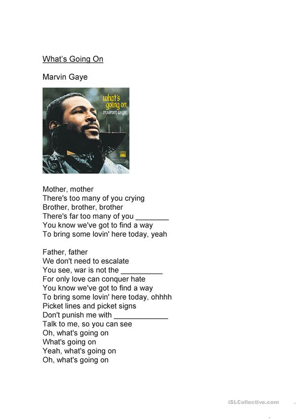 What`s Going On--Marvin Gaye