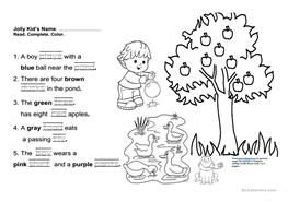 English ESL jolly phonics worksheets - Most downloaded (13