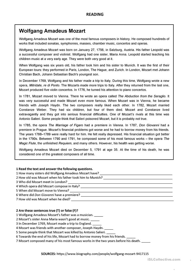 Bach Lesson Plans &- Worksheets Reviewed by Teachers
