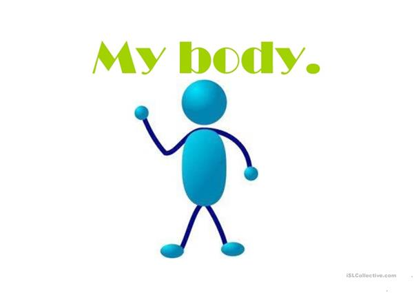 Body parts ppt for kids. Easy and interesting.
