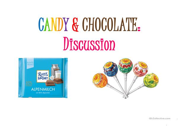 Candy & Chocolate Discussion