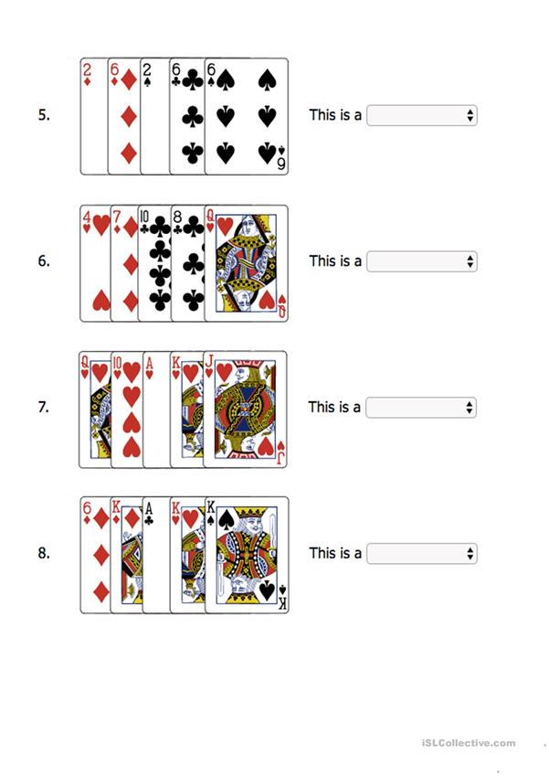 Playing cards (+poker)