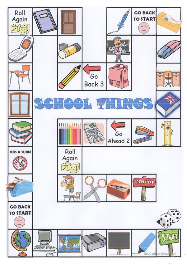 school things boardgame