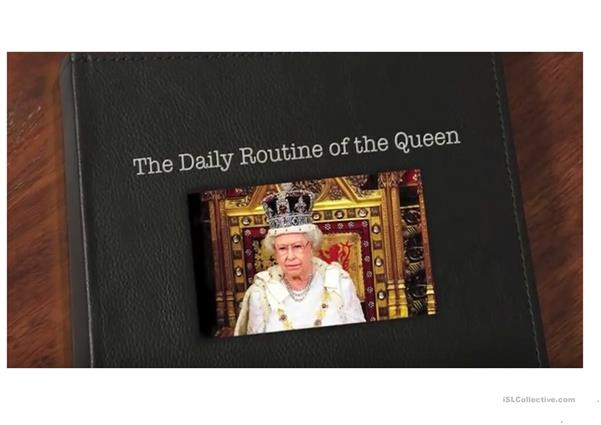 The Queen's Daily Routine