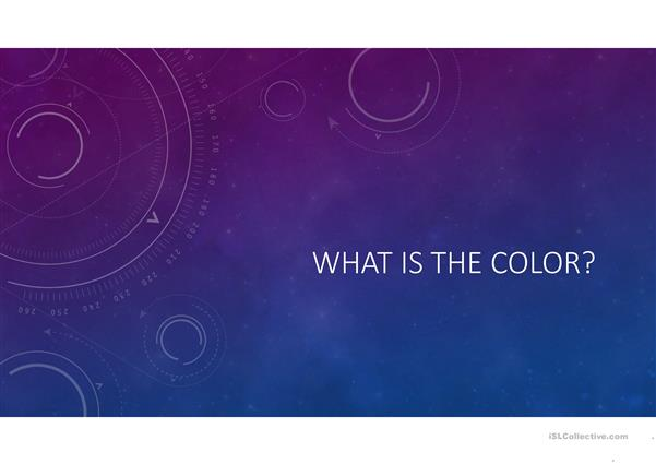 What´s the color?