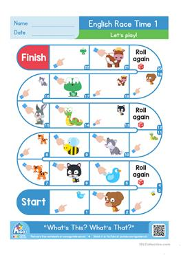 15 free esl this and that worksheets whats this whats that english race time game snakes and lad ibookread PDF