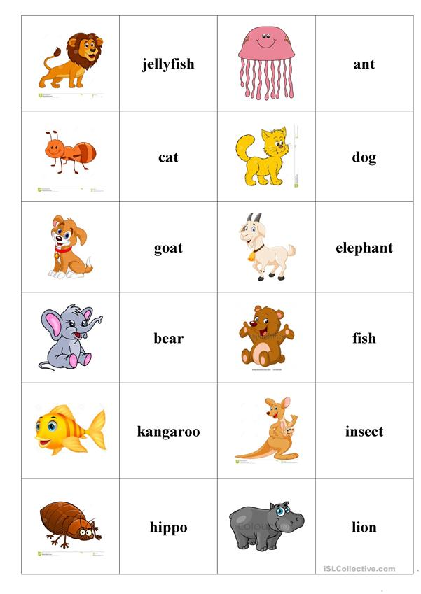ABC animals (domino)
