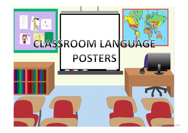 CLASSROOM LANGUAGE POSTERS