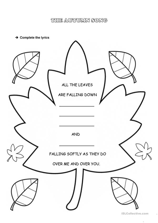 FALLING LEAVES song activity